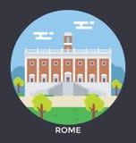 Rome Vector Icon Royalty Free Stock Photos