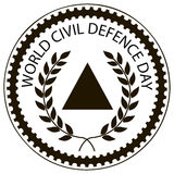 World Civil Defence Day Royalty Free Stock Photography
