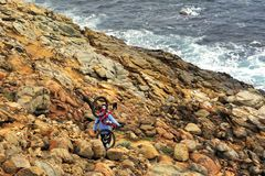 Cape to Cape Walk Trail, Seven to Ten days Walk. stock images