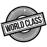 World Class rubber stamp Royalty Free Stock Photography