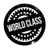 World Class rubber stamp. Grunge design with dust scratches. Effects can be easily removed for a clean, crisp look. Color is easily changed Royalty Free Stock Image