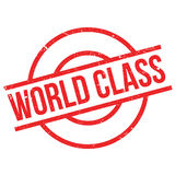 World Class rubber stamp Stock Images