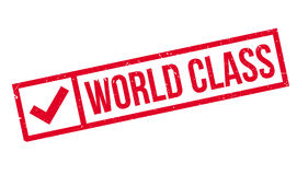 World Class rubber stamp Royalty Free Stock Photos