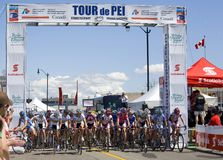 World Class Women's Cycling Race - Tour de PEI Stock Photography