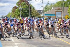 World Class Women's Cycling Race - Tour de PEI Royalty Free Stock Photos