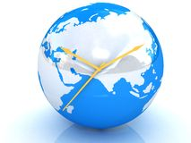 World clock Royalty Free Stock Photos