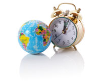 World clock stock image