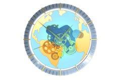 World Clock Royalty Free Stock Photography