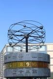 World Clock at Alexanderplatz Stock Photos