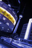 World clock at alexanderplatz berlin Stock Photos