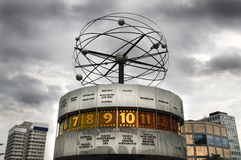World clock in Berlin Stock Photography
