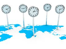 World clocks Royalty Free Stock Image