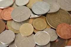 World Coins Stock Photography