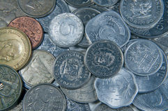 World Coins Three Royalty Free Stock Photos