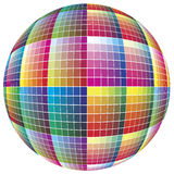 World of colors. Spherical color guide to match colors for print Royalty Free Stock Photos