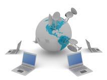 World communication Stock Images