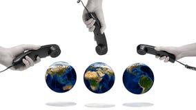World Communication Royalty Free Stock Photo