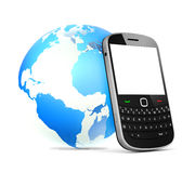 The World Communication Mobile Phone Stock Photography