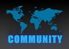World community Stock Image