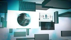 World community animation