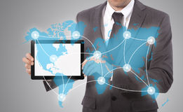World connected Stock Photography