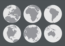 World royalty free illustration