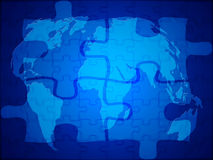 World cooperation background Royalty Free Stock Images