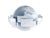 World correspondence Stock Images