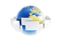 World correspondence Stock Photo
