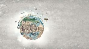 World creation mechanisms Stock Photo