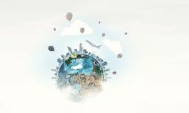 World creation mechanisms Stock Image