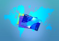 World Credit Stock Photo