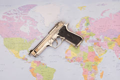 World crime. As a symbol royalty free stock photo