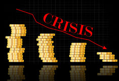World crisis Royalty Free Stock Images