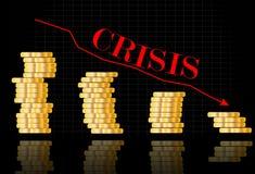 World crisis Royalty Free Stock Images