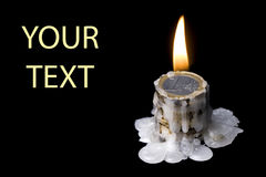 World crisis (burning of money) Royalty Free Stock Images