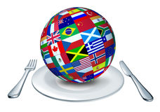 World cuisine Stock Images