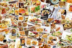 World Cuisine Collage Royalty Free Stock Photo