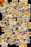 World Cuisine Collage Stock Image