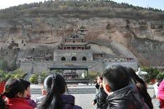 The world cultural heritage list: shaanxi xianyang Bin County jinzhou.would Stock Photos