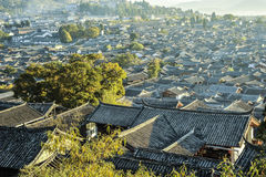 World Cultural and Natural Heritage Lijiang scenery Royalty Free Stock Photo