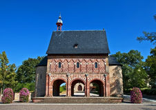 World culture heritage Monastery Lorsch stock image