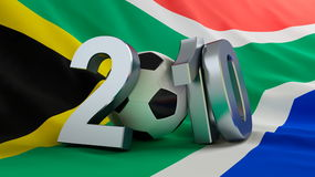 World Cup. 2010 World Cup South Africa royalty free illustration