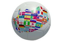 World Cup 2010. Football Texture Nation of Team World Cup 2010 royalty free illustration