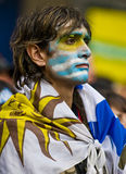 World cup 2010 in Montevideo Uruguay Royalty Free Stock Photo