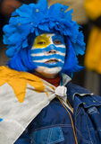 World cup 2010 in Montevideo Uruguay Royalty Free Stock Photography