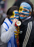 World cup 2010 in Montevideo Uruguay Royalty Free Stock Image