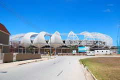 World cup 2010 soccer stadium Royalty Free Stock Photo