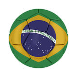 World Cup 2014 Brazil Ball. On White Background Royalty Free Stock Images