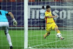World Cup 2014 Preliminaries: Romania-Andorra Stock Photography
